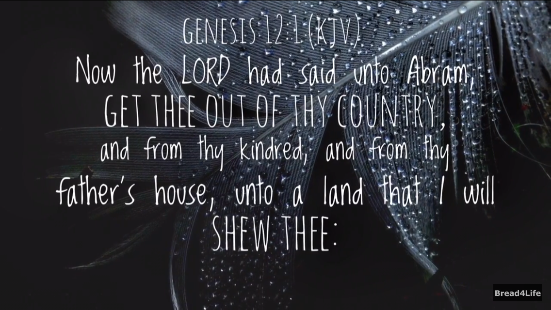 Genesis 12:1 - the Blessing to Abraham